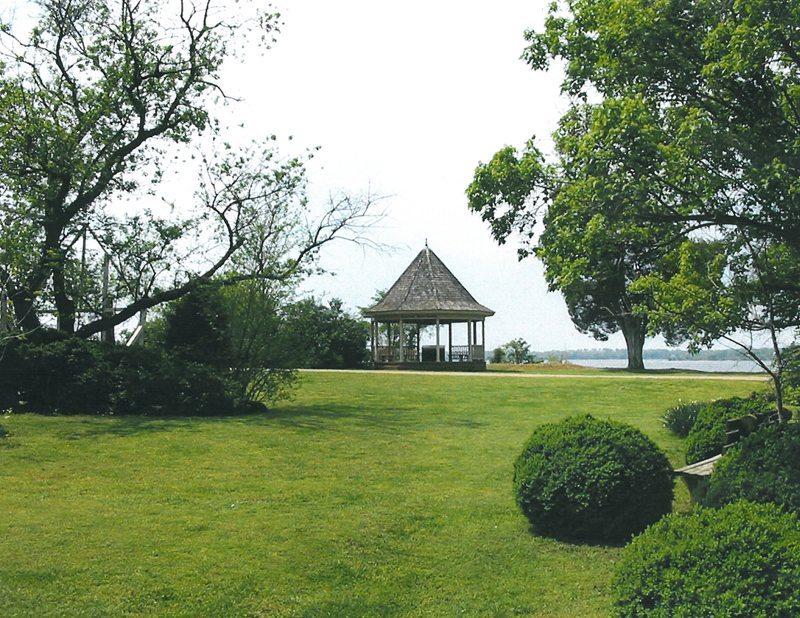 View of Waterfront Gazebo