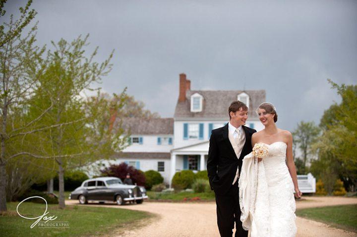 Wedding Reception Photos at Brome Howard Inn