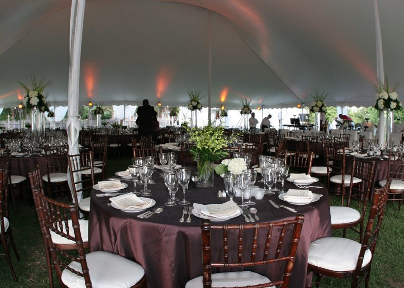 Tent Interior Decorated