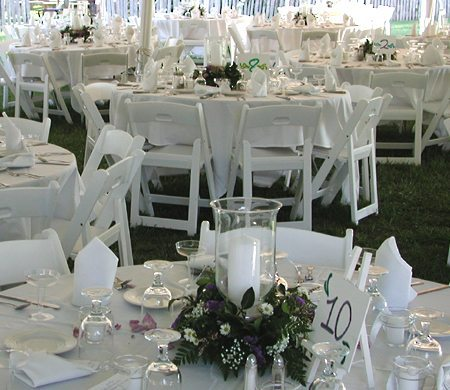 Table Settings Catered Event in St. Mary's City